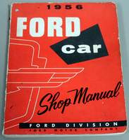 1956 Ford Car Shop Manual - Thunderbird Service Manual
