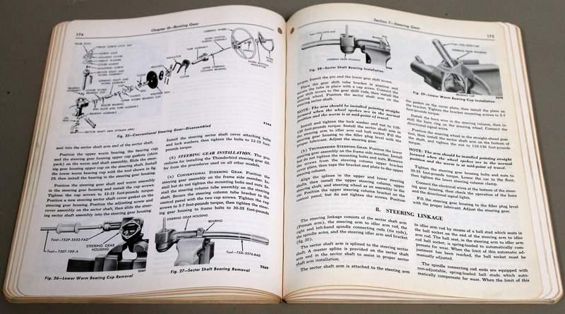 1956 Ford Car Shop Manual - Thunderbird Service Manual