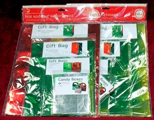 2 New Packages of Pop Box Festive Christmas Holiday Assorted Gift Bags and Boxes