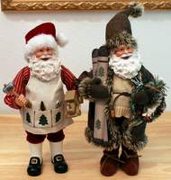 2 Christmas Treasured Santas from Michael's - New with Tags
