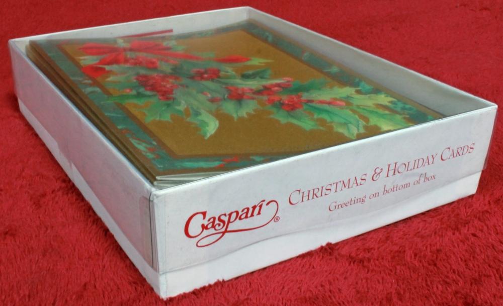 Caspari Christmas Cards.20 Caspari Christmas And Holiday Cards Brand New Sealed