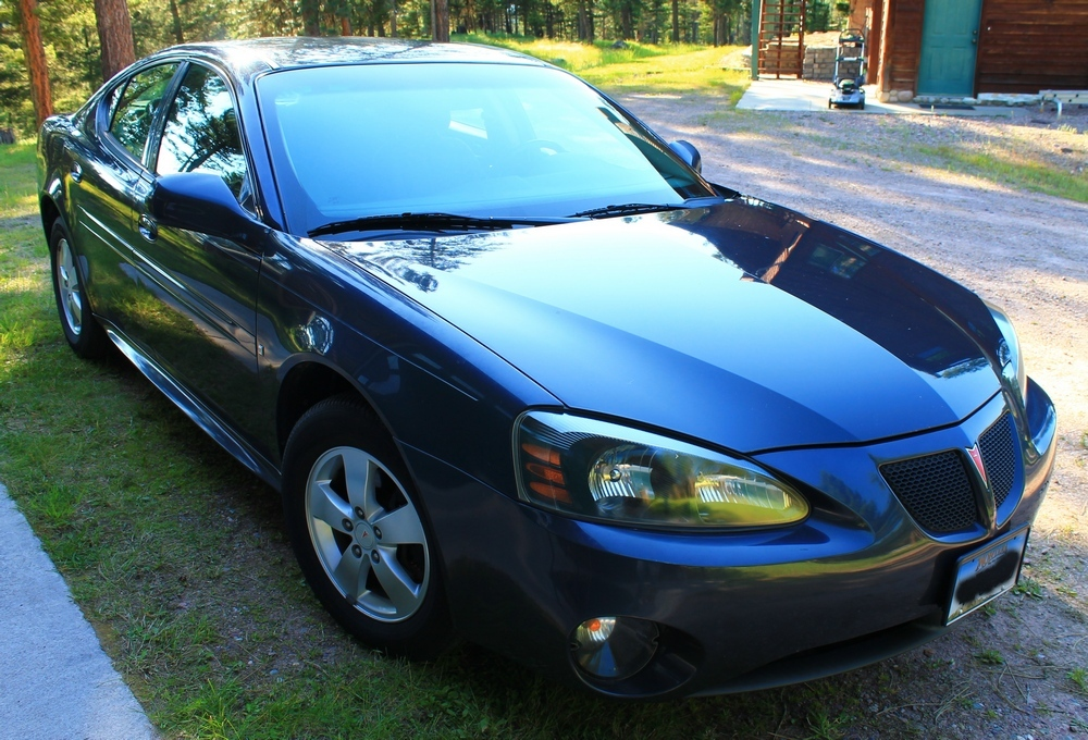 2008 Pontiac Grand Prix 3.8L Series III V6 with electronic throttle control - 4-speed automatic Front Wheel Drive