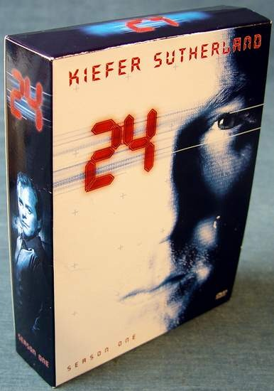 24 - Season One (2002) Complete Season 1 on 6 DVDs