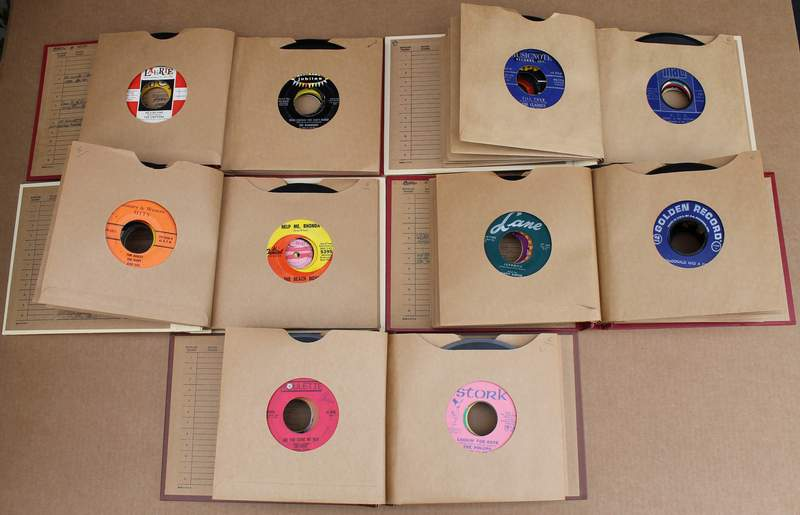 45 RPM Record Collection (53 individual records in all) Collectable Records from the 50's and 60's