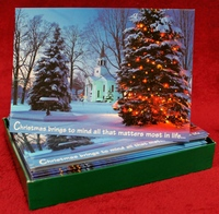 Abbey Press 53053 Christmas Cards - Christmas Brings to Mind All That Matters Most in Life