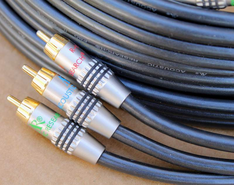 AR - Acoustic Research Pro II High Definition Component Video Cable - 25' Length