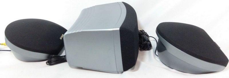 AIWA SX-R275 & SX-C605 Surround Sound Set of 3 Speakers, 2 Mains & 1 Center