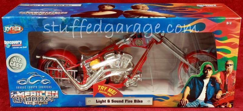 American Chopper Light & Sound Fire Bike