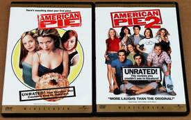 American Pie 1 & 2 on DVD's (Unrated Widescreen Collector's Edition)