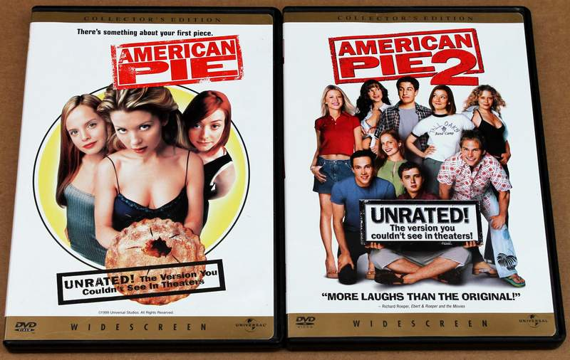 American Pie 1 & 2 on DVDs (Unrated Widescreen Collector's Edition)