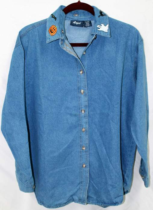 Argee DENIM SHIRT for HALLOWEEN or CHRISTMAS