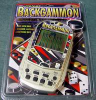 Brand New Backgammon Electronic Handheld Game