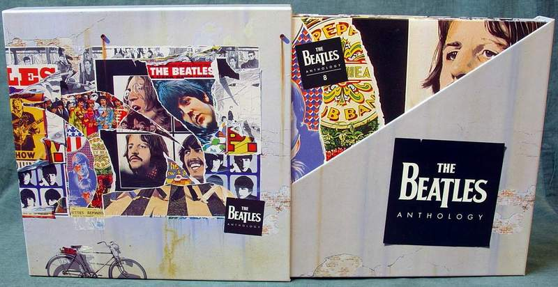 The Beatles Anthology 8 Laserdisc Slipcase Boxed Set