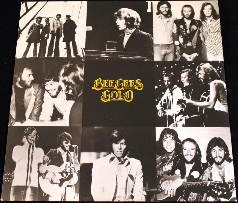 Bee Gees Gold LP Inner Sleeve