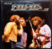 Bee Gees - Here At Last - Live - RSO - 2658120 - 1977 (Double LP Album Gatefold)