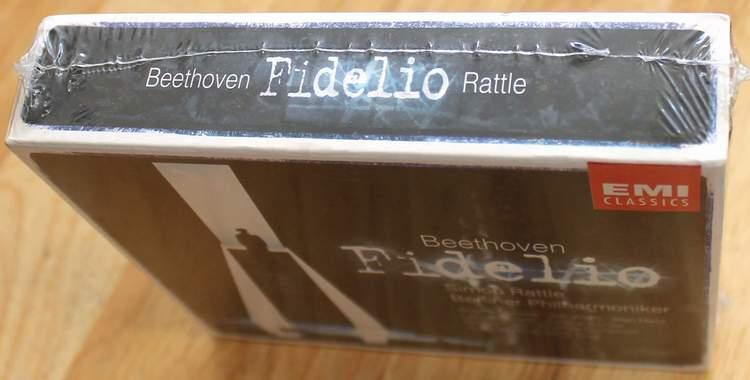Beethoven Fidelio - Sir Simon Rattle - Berliner Philharmoniker - EMI Classics - 2 Disc DVD Set
