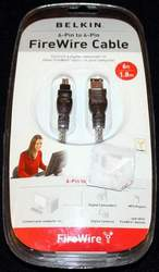 New Belkin F3N401V06-ICE FireWire Cable