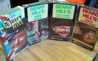 Benny Hill 4 Brand New Sealed VHS Tapes