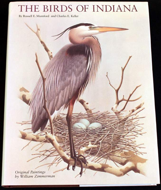 The Birds of Indiana (1984 large hardcover)