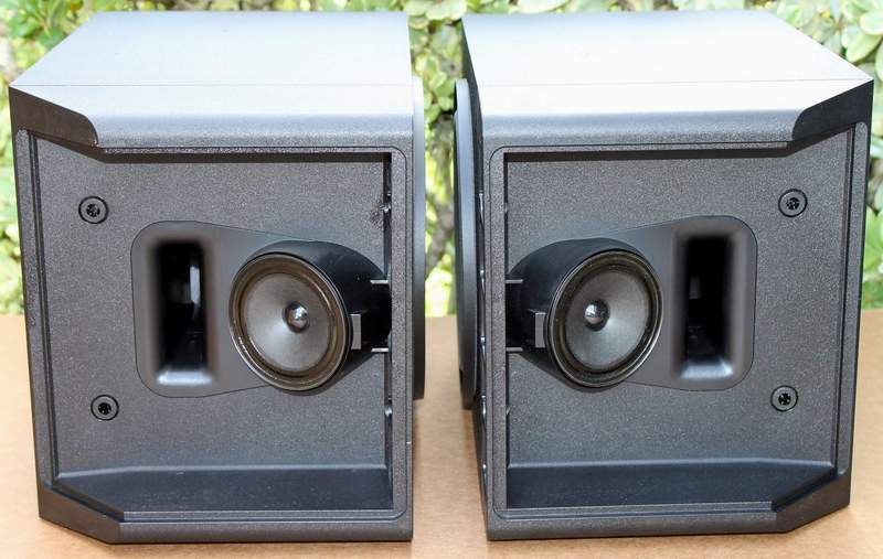 BOSE 301 Series IV Speakers shown here with speaker grills removed.
