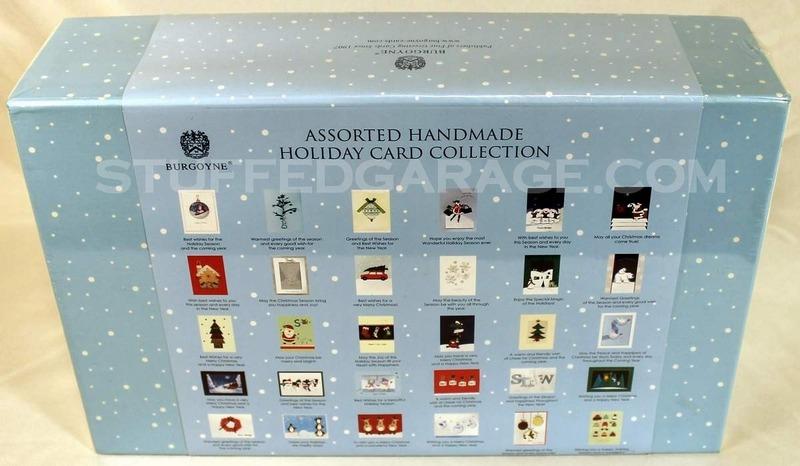 Burgoyne 30 Elegant Hand Crafted Holiday Cards With Envelopes & Decorative Box NIB