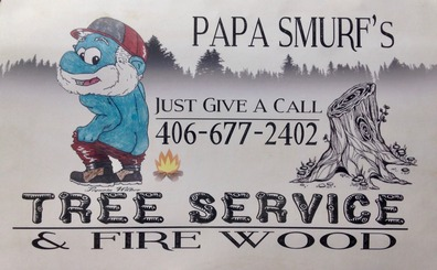 PaPa Smurf's Tree Service & Fire Wood in Seeley Lake, MT - phone: 406-677-2402