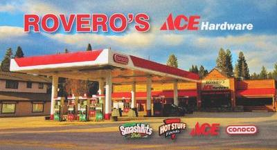 ROVERO'S ACE HARDWARE, Hwy 83, Seeley Lake, MT 59868, store: 406-677-2445, Fax: 406-677-2800 email: roverosace@yahoo.com, fuel, hardware, Wine & Beer, Snacks, Grocery, Deli, Pizza