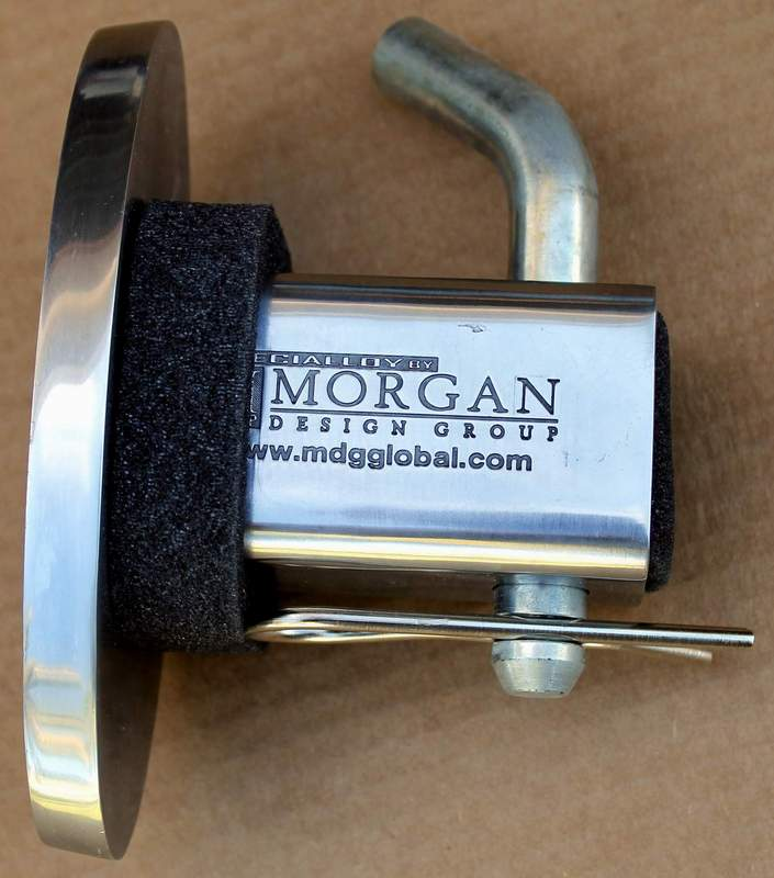 Cadillac Signature Tow Hitch Cover From Morgan Design Group