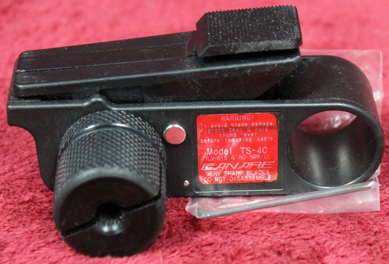 CANARE COAXIAL CABLE STRIPPER TS-4C