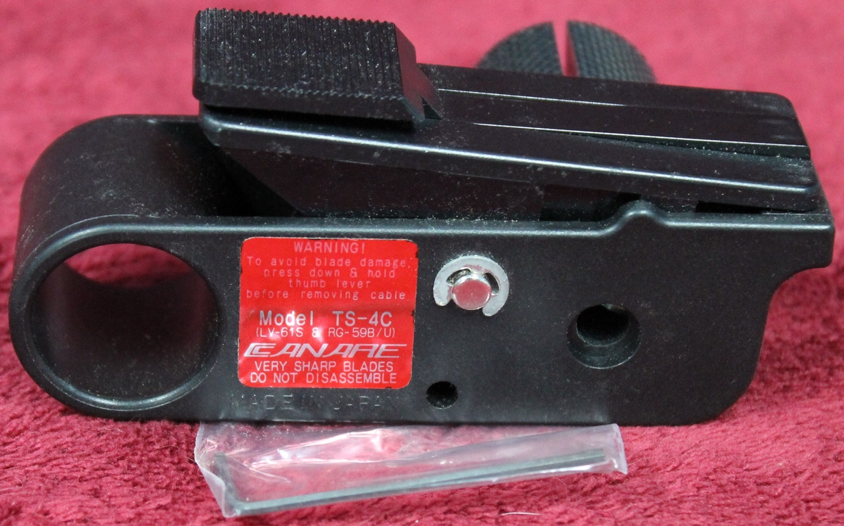 Canare Coaxial Cable Stripper Ts 4c
