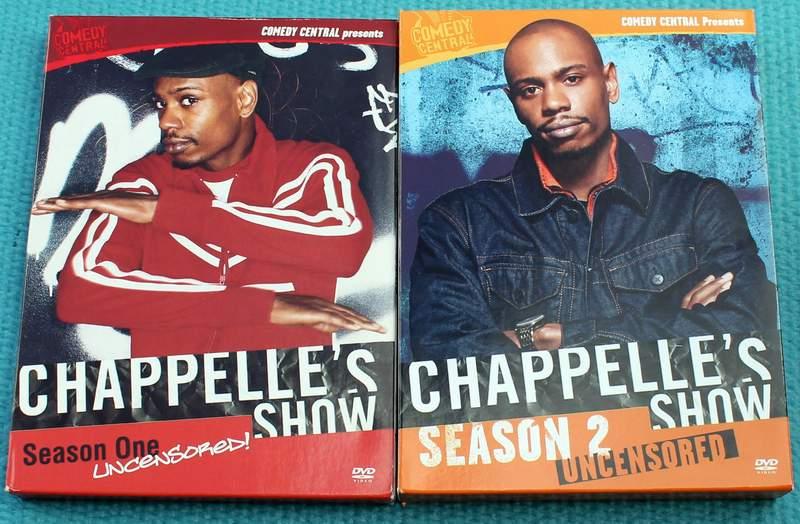 Chappelle's Show - Seasons 1 & 2 Uncensored DVD Sets