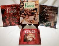 Lot of 4 Christmas with Victoria Books 1997, 1999, 2000, 2003 All in New Condition