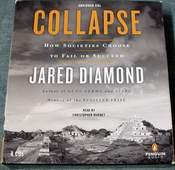 Collapse - How Societies Choose to Fail or Succeed by Jared Diamond AUDIOBOOK on 8 CDs