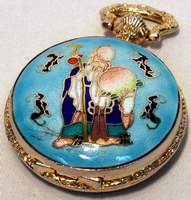Le Baron Confucius Quartz Pocket Watch