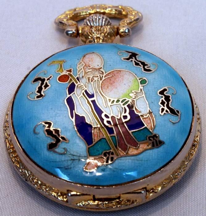 Le Baron Confucius Quartz Pocket Watch