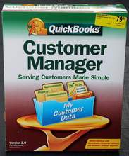 QuickBooks Customer Manager for Windows Version 2.0 2.0R3 SKU 296723