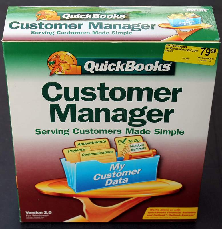 Quickbooks customer manager new version