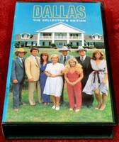 DALLAS The Collector's Edition Columbia House VHS Spy in the House - Wind of Vengeance