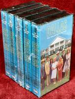 Dallas The Collector's Edition VHS tapes Columbia House episodes from 1978 and 1979. Tapes copyrighted in 1995. NEW - Sealed in Shrink-wrap