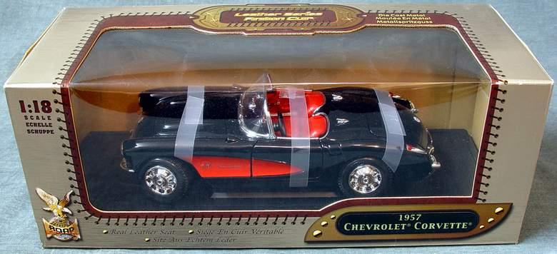 1957 Chevrolet Corvette QVC Exclusive #C23074 Limited Edition YAT MING #92018