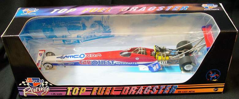 CARQUEST Top Fuel Dragster 1:25th scale dragster of World Champion Paul Romine