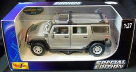 2003 Hummer H2 Limited Special Edition Maisto Item # 31231 1/27 Scale Die Cast Metal SUV