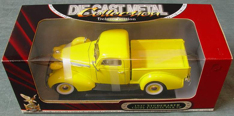 1937 Studebaker Coupe Express Pick-Up Truck - Road Signature - Yat Ming Deluxe Edition #92458