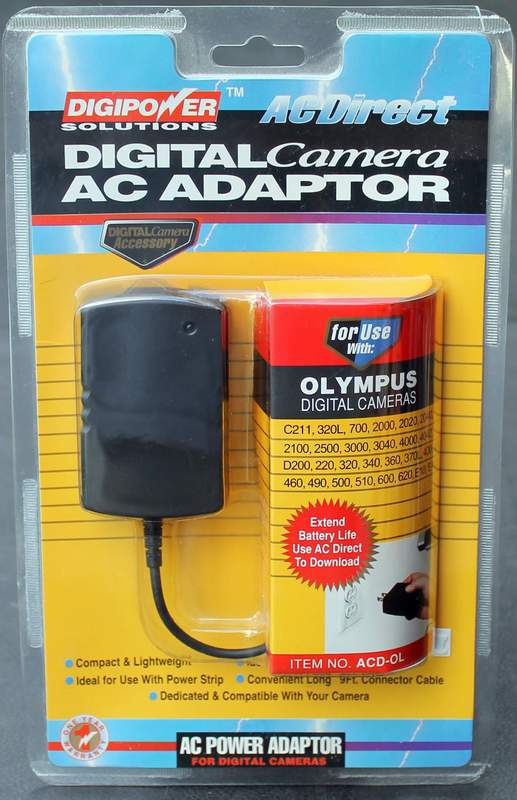 DIGIPOWER ACD-OL AC Adaptor Power Supply for Select Olympus Digital Cameras