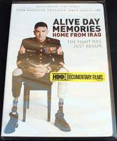 Alive Day Memories: Home from Iraq Starring James Gandolfini and Dexter Pitts (2007) BRAND NEW SEALED