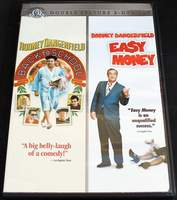 Back To School / Easy Money (Double Feature 2 DVD Set) Starring Rodney Dangerfield, Joe Pesci, Sally Kellerman BRAND NEW SEALED