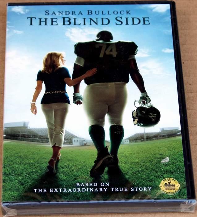 The Blind Side - starring Sandra Bullock - Brand New Sealed DVD