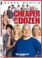 Cheaper By the Dozen Starring Steve Martin, Bonnie Hunt, Hilary Duff and Piper Perabo