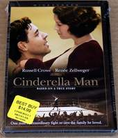 Cinderella Man - starring Russell Crowe and Renee Zellweger - Brand New Sealed DVD