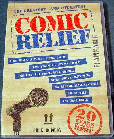 Comic Relief - The Greatest and the Latest 2-Disc DVD Set